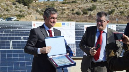 Inauguración De La Finalización De Las Obras Del Sector I